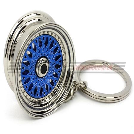 BBS RS nøglering blå