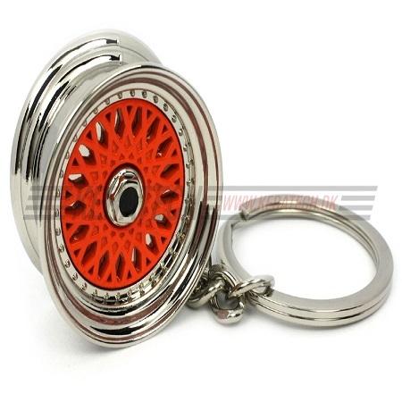 BBS RS nøglering rød