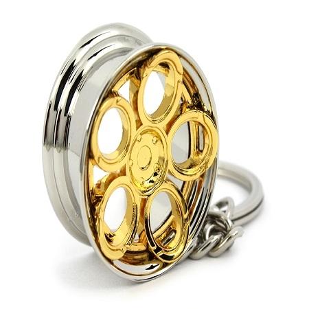 RAD48 nøglering guld
