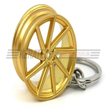 Vossen CVT nøglering guld
