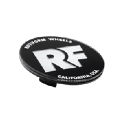 Rotiform RF Centerkapsel Sort Med Sølv RF