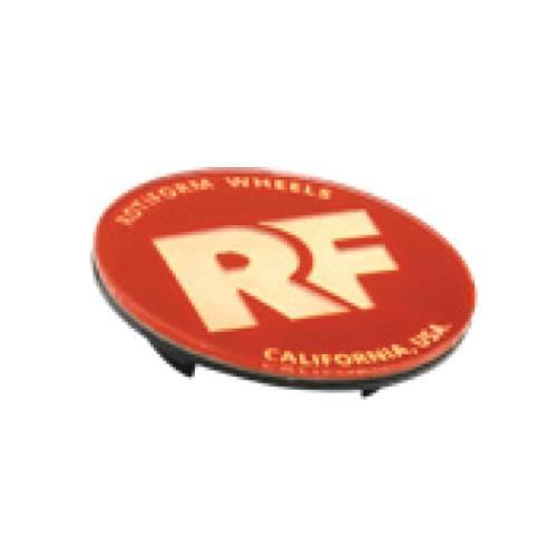 Rotiform RF Centerkapsel Rød Med Guld RF
