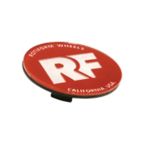 Rotiform RF Centerkapsel Rød Med Sølv RF