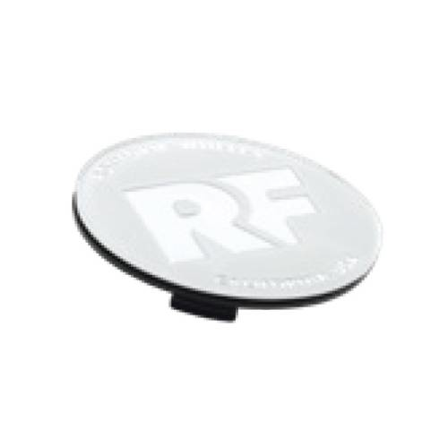 Rotiform RF Centerkapsel Hvid Med Sølv RF