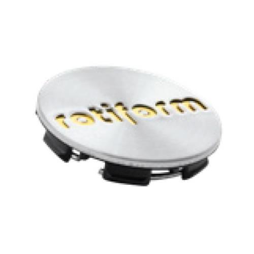 Rotiform Centerkapsel Sølv Med Guld Rotiform