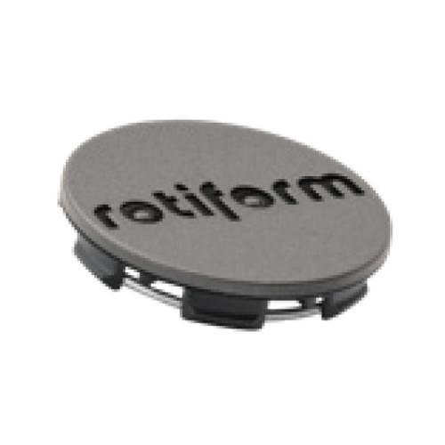 Rotiform Centerkapsel Antrasit Med Sort Rotiform