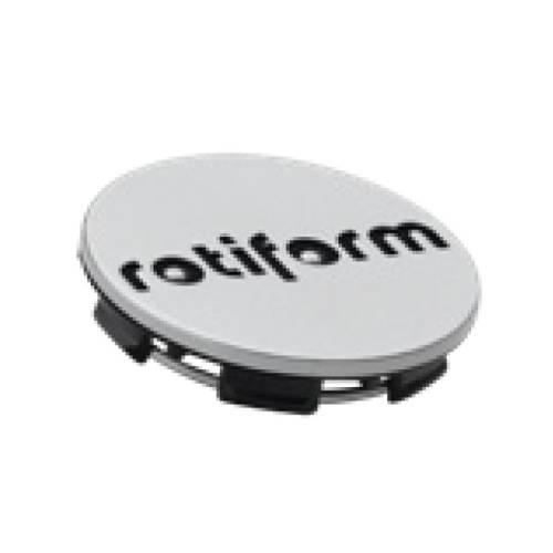 Rotiform Centerkapsel Sølv Med Sort Rotiform